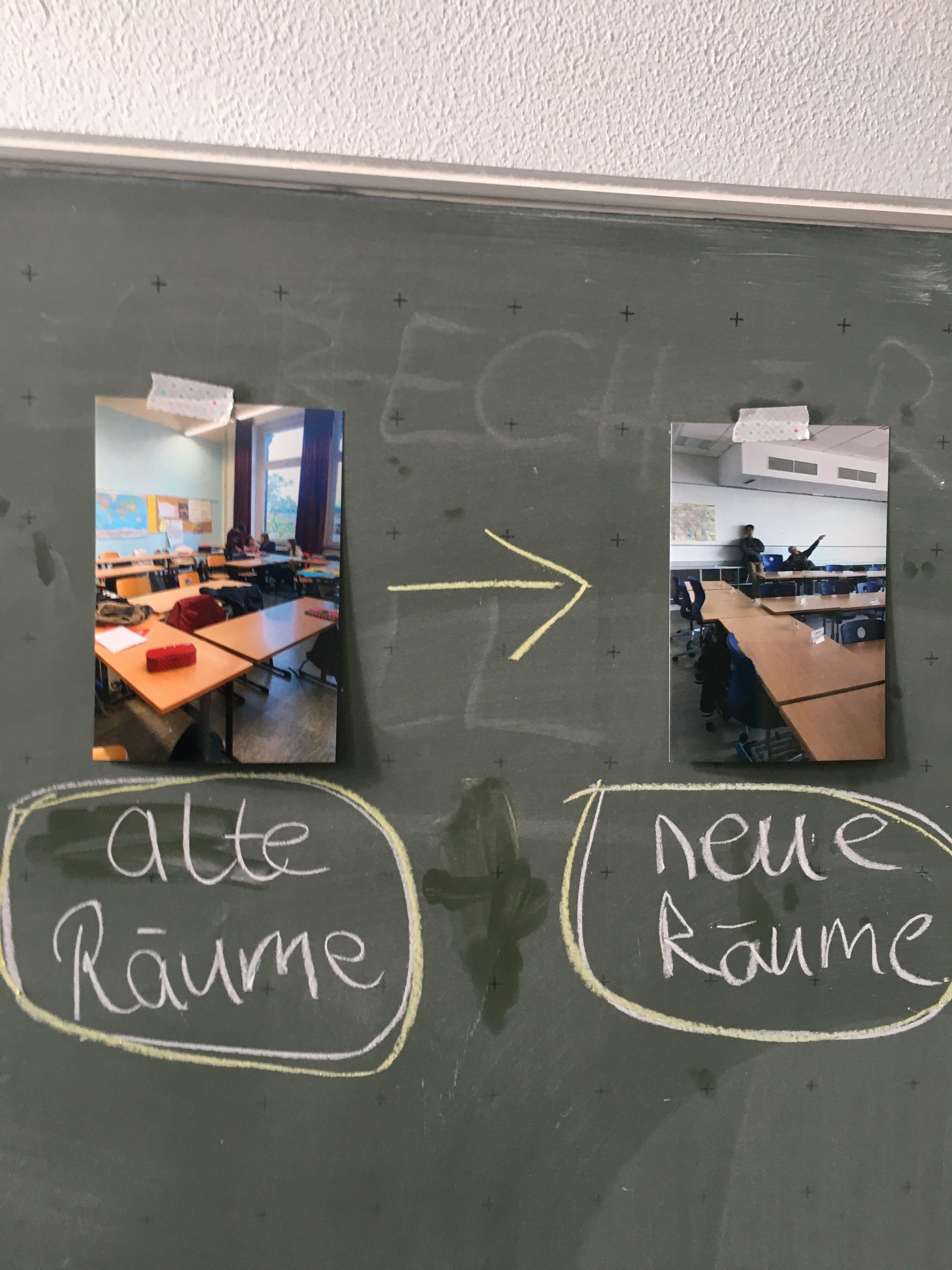 Projekt Klassenraum gestallten